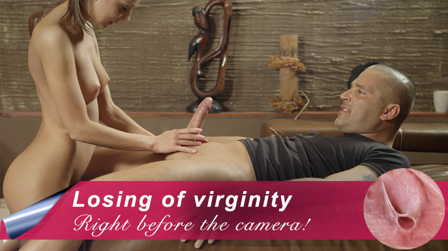 Casually Losing your virginity on camra